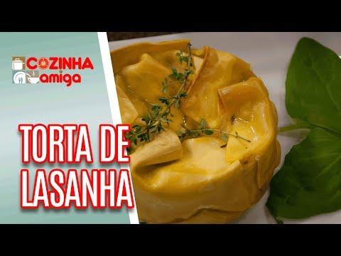 Torta De Lasanha - Gabriel Barone | Cozinha Amiga (08/05/18)