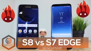 BENCHMARK - Samsung Galaxy S7 Edge vs Samsung Galaxy S8 (Exynos 8895)