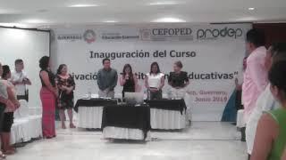 """Clausura del curso """"Motivación en Instituciones Educativas"""" - Estado de Guerrero"""