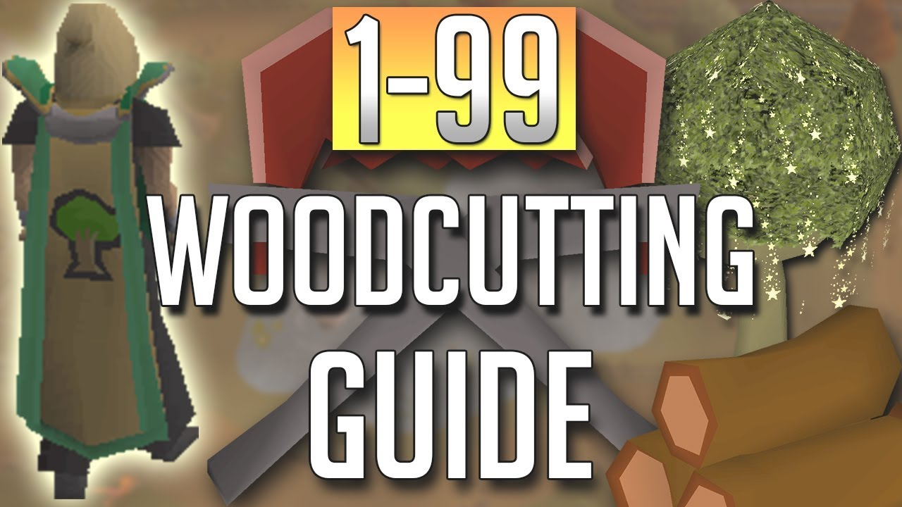 Loot from 90-99 woodcutting at redwoods only (osrs) by