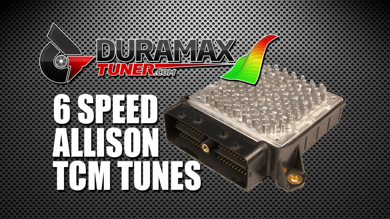 speed allison tcm tune advantages youtube