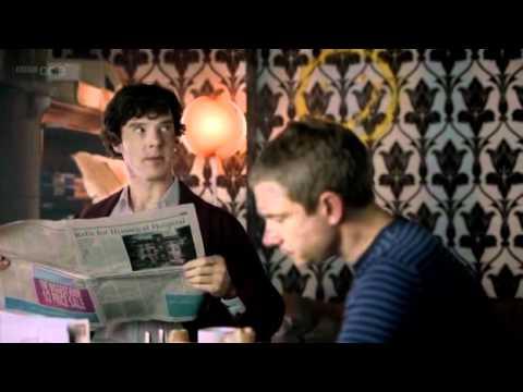 "Mycroft say: ""Shut Up"""