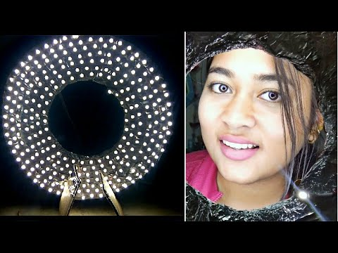 DIY Ringlight under ₹300 | Easy & durable | Hindi | Do It Yourself Portrait light for YouTube