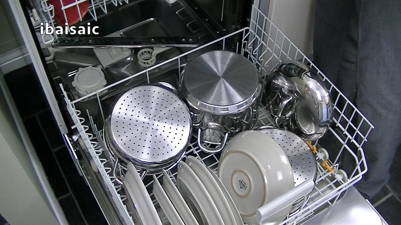 Miele Dishwasher Reviews >> Miele G4203 Sc Active Dishwasher Review Demonstration