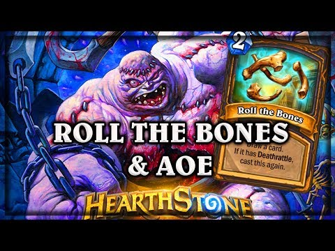 Roll the Bones & Abomination  ~ Kobolds & Catacombs ~  Hearthstone heroes of warcraft