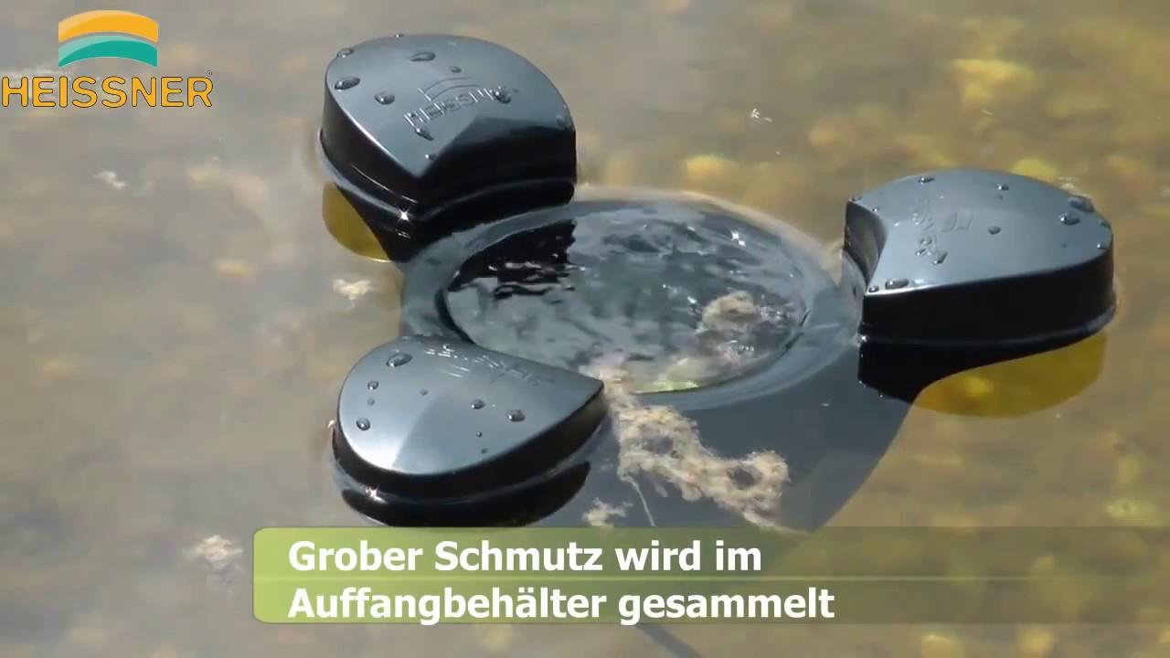 Skimmer flotante con bomba para estanque youtube - Bomba para estanque ...