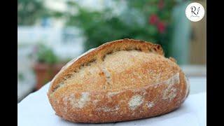BÁNH MÌ MEN CHUA KHÔNG CẦN NHỒI - How to make sourdough bread, handmade ( #Mai_Chi_Nghia )
