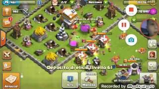 Clash of clans #4 lega argento    mamma come godo