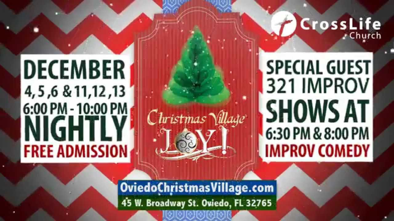 Christmas Village JOY! Commercial 2015 - YouTube