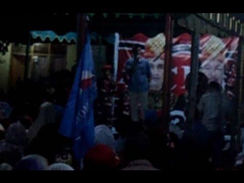 Orasi Politik Tgk Agam (Nazaruddin) di Jurong Nawawi Tapak Gajah Sabang, Lawan Sudah GALAU !!!