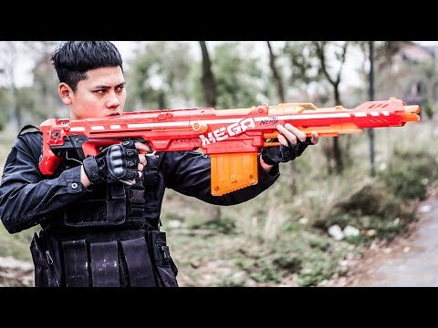 LTT Gaming Nerf Guns : SEAL X  Use The Nerf Guns Battle Criminal Group | MEGA Nerf Guns