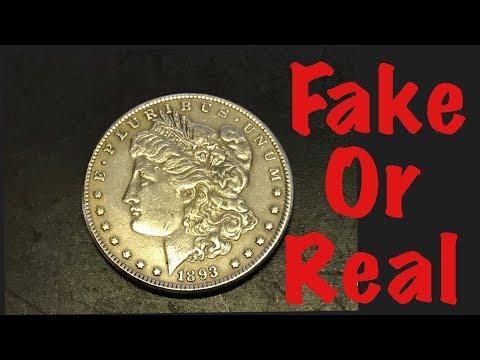 Fake Or Real. How To Spot A Fake Morgan Silver Dollar??