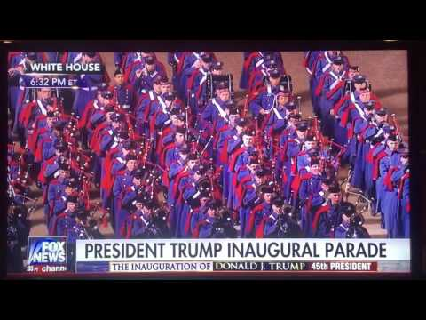 VMI Corps of Cadets 2017 Presidential Inauguration Parade