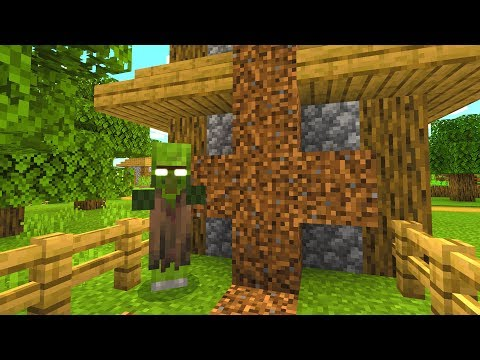 This Minecraft villager is not dead.. (Scary Minecraft Video)