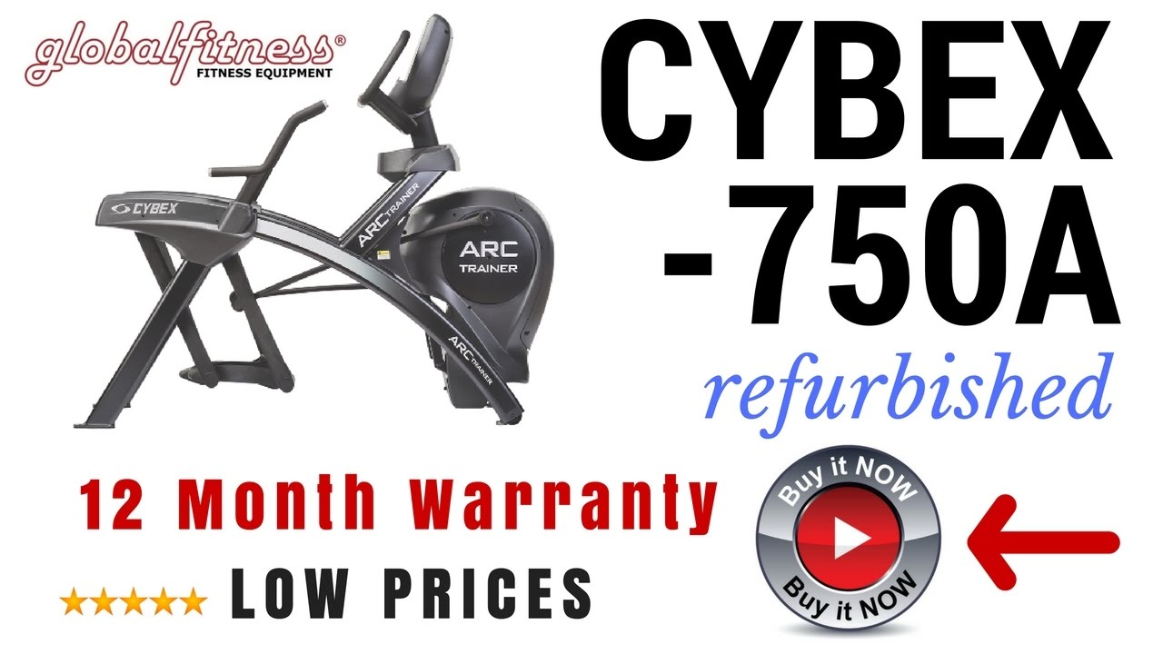 Arc trainer For Sale Used Cybex Arc Trainer 750AL Refurbished in USA commercial gym equipment