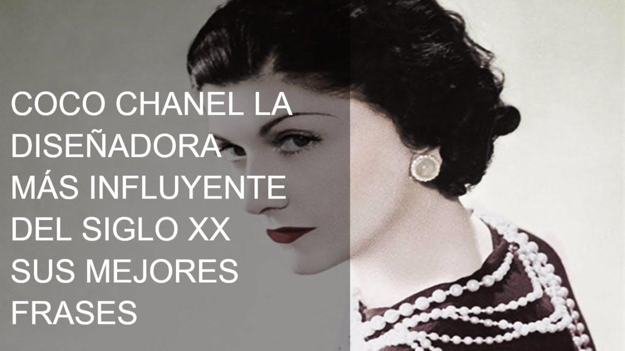 Las Mejores Frases De Coco Chanel La Diseñadora Mas Influyente