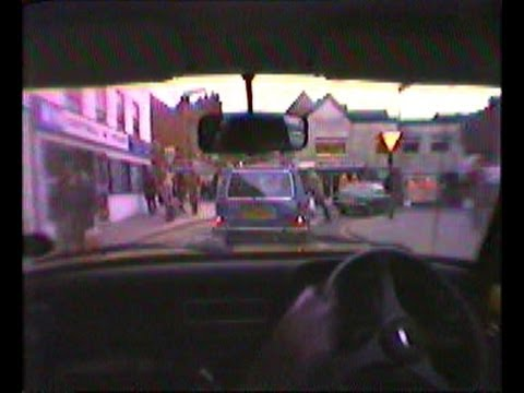24th Dec 1980 - Drive into Kiddy Town Centre and back Home