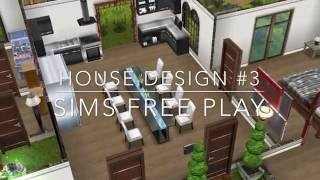 Sims Free Play -  House Design #3