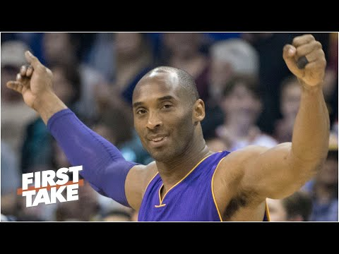 Should Kobe Bryant be the new NBA logo? Stephen A., Max and Perk debate | First Take