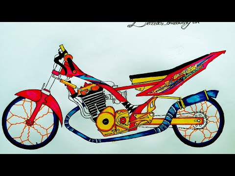 Waw Menggambar Satria Fu Besic Drag By Dimas Drawing Art