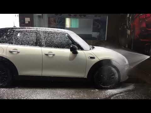 Heavy duty car washer with car foaming