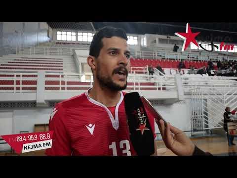 تصريحات كلاسيكو كرة الطائرة بين النجم الرياضي  الساحلي و الترجي الرياضي التونسي