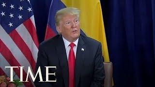 Trump Calls Two Women