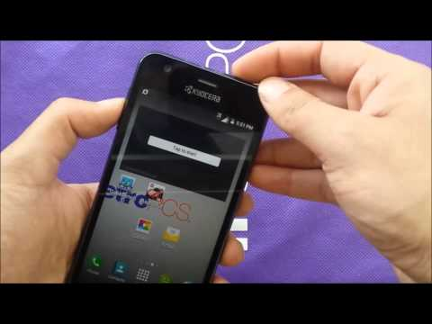 Kyocera  Hydro wave remove frozen screen for metro pcs\T-mobile