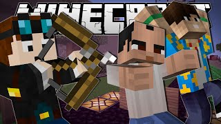 Minecraft | 1 ARROW, 3 KILLS!! | One in the Quiver Minigame