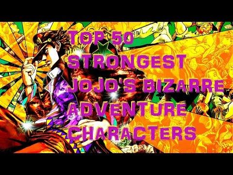 Top 50 Strongest Jojos Bizarre Adventure Characters Videomovilescom