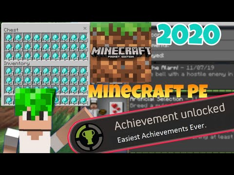 How To Go CREATIVE Mode Without Turning Off ACHIEVEMENTS!!   Minecraft Pe Cheat 2020   Android Only