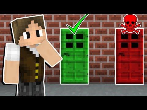 Minecraft Infinito #31: ESCOLHA A PORTA CERTA OU MORRA TROLLADO!