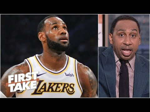LeBron needs to focus on bringing a championship to the Lakers – Stephen A. | First Take