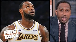 LeBron needs to focus on bringing a championship to the Lakers - Stephen A. | First Take
