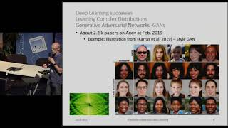 DL4ESS (Deep Learning for Earth and Space Sciences). Panorama. Patrick Gallinari/LIP6.