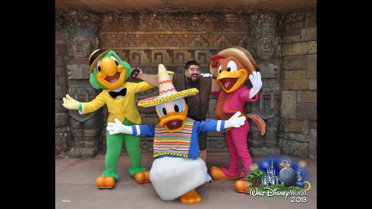 Three Caballeros Attack Camera Disney World Epcot Mexico