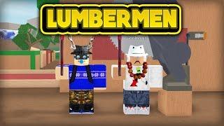 ¡LOS LUMBERMEN! (ROBLOX Lumber Tycoon 2)