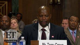 Terry Crews Testifies About Sexual Assault Before Senate