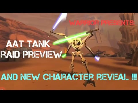 New Character Reveal General Kenobi!?!  AAT Tank Sneak Peek! Star Wars Galaxy of Heroes