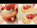 How to make Japanese deco rolled cake + macarons