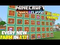 How To FARM EVERYTHING New In 1.17! 37+ Farms! Minecraft Caves And Cliffs Update, Bedrock Edition