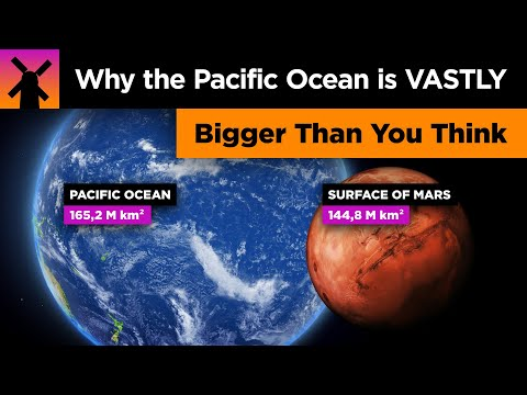The Pacific Ocean is VASTLY Bigger Than You Think