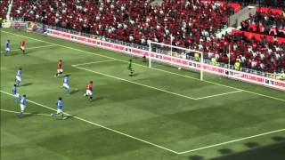 FIFA 12-Finishing with Chip Shots (In Game Examples)