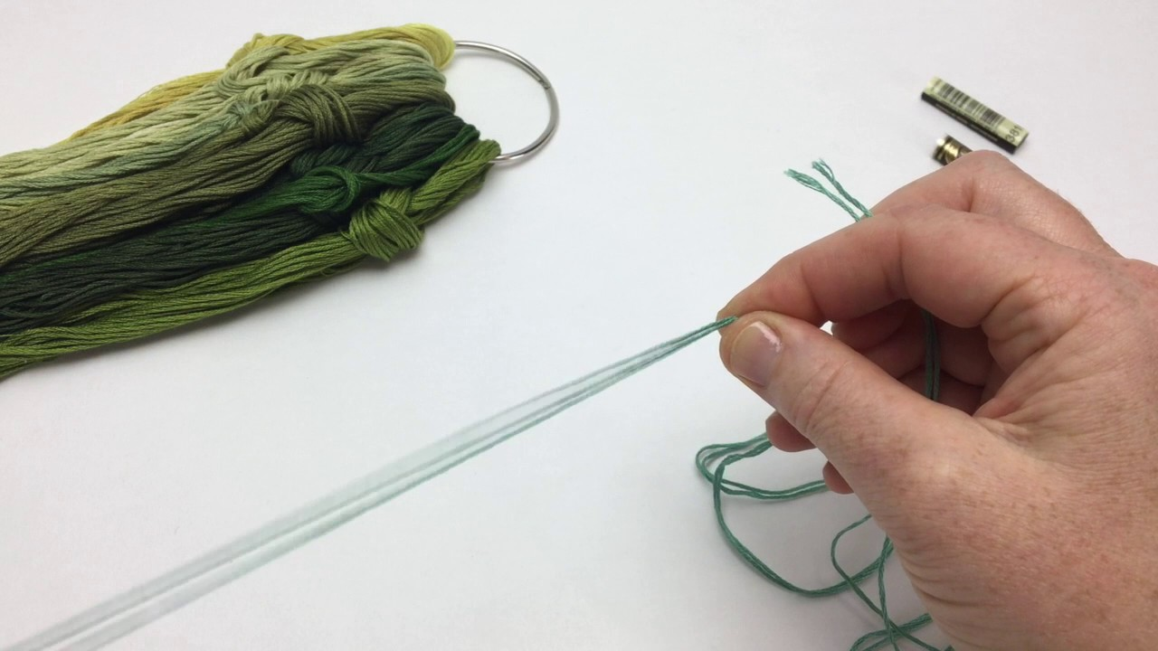 Organizing Embroidery Floss Youtube
