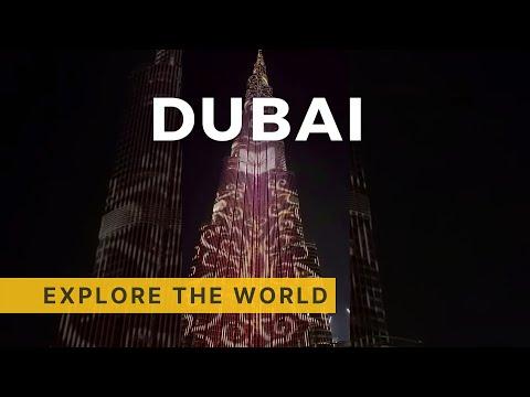 BURJ KHALIFA Led Show, Dubai UAE