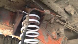 УАЗ-31512 установка пружин в помощь рессорам  часть 2