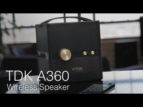 TDK A360 Wireless Speaker Unboxing & First Look