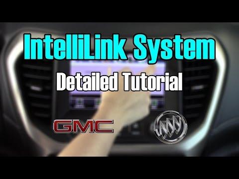 buick-&-gmc-intellilink-2017-detailed-tutorial:-tech-help