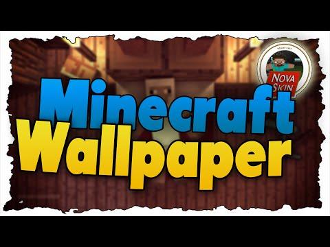 Coole Minecraft WALLPAPER  Erstellen - Tutorial