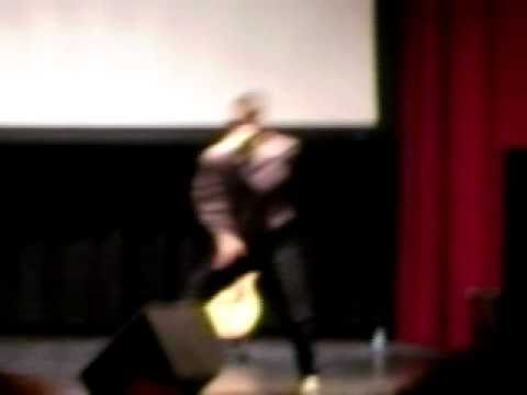 Tino Coury- Up Against the Wall (performance at Argo High School)